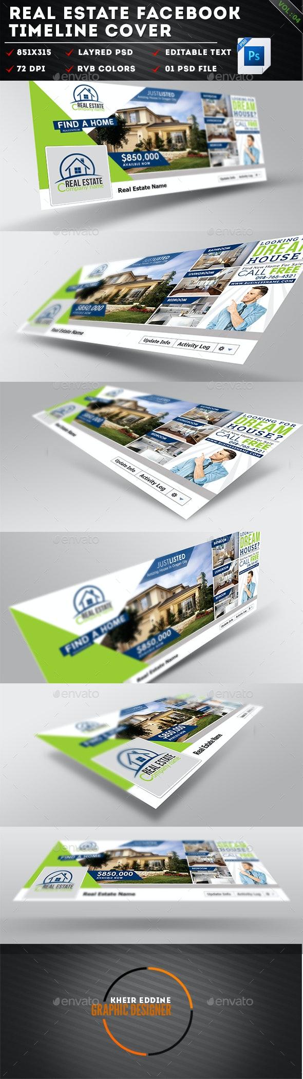 Real Estate Facebook Timeline Cover Vol 04  - Facebook Timeline Covers Social Media