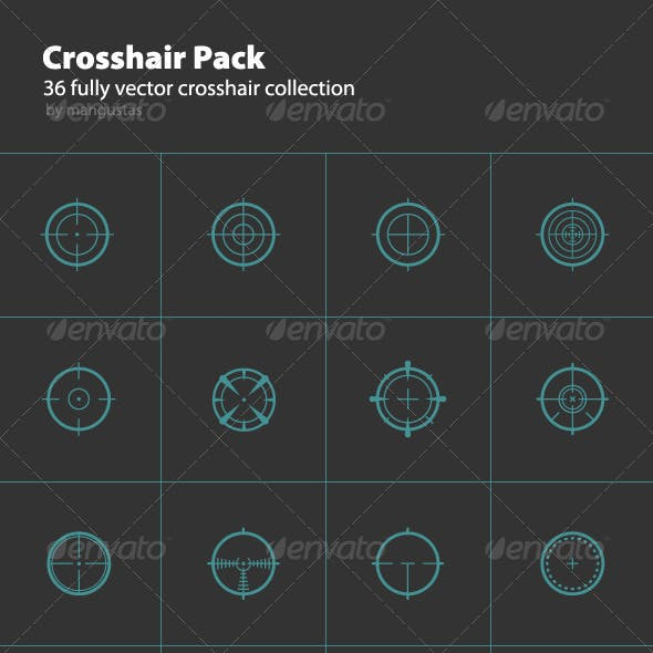 36 Round Crosshair Collection