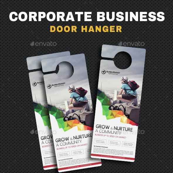 Corporate Door Hangers V18