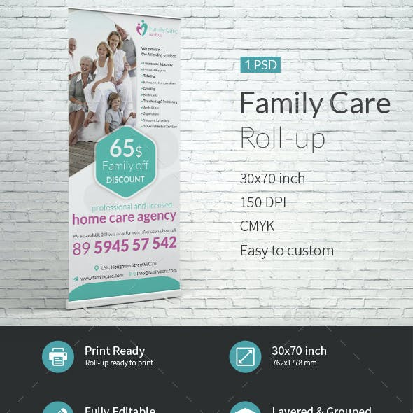 Family Care Roll-up Template