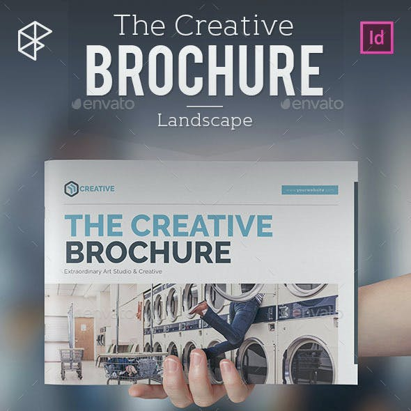 The Creative Brochure - Landscape