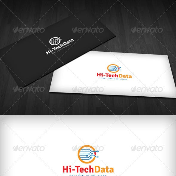 Hi-Tech Data Logo