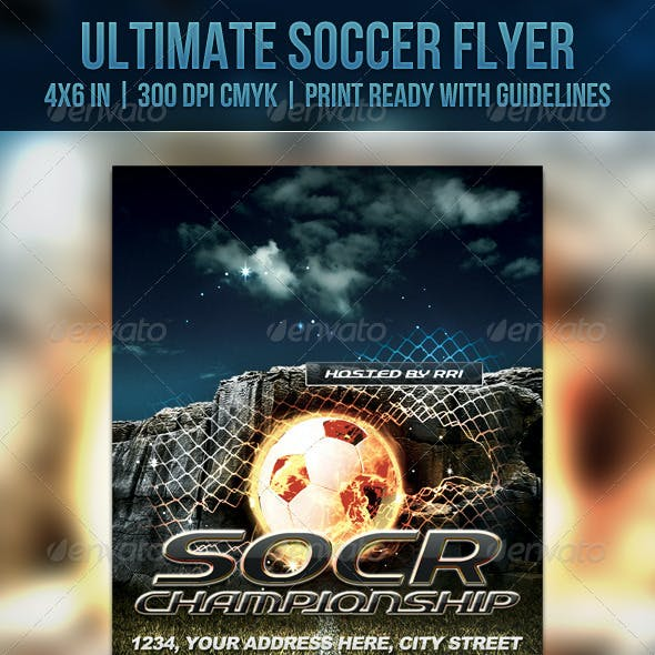 Ultimate Soccer Flyer