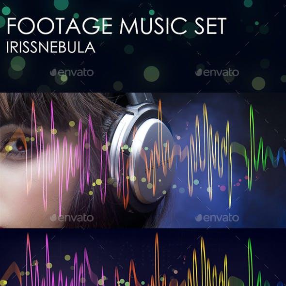 Footage Music Light Set