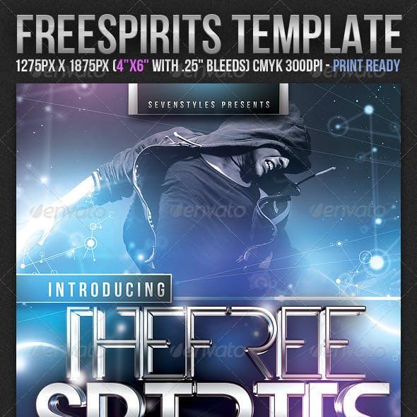 FreeSpirits Flyer Template
