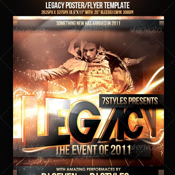 Legacy Poster/Flyer Template