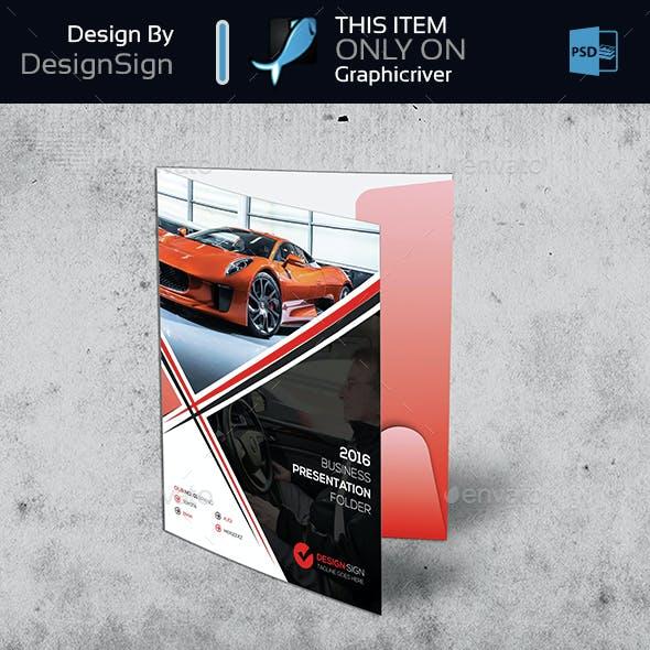 Rent A Car Presentation Folder