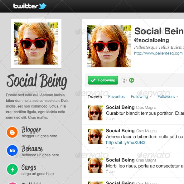 Chuck - Twitter Background