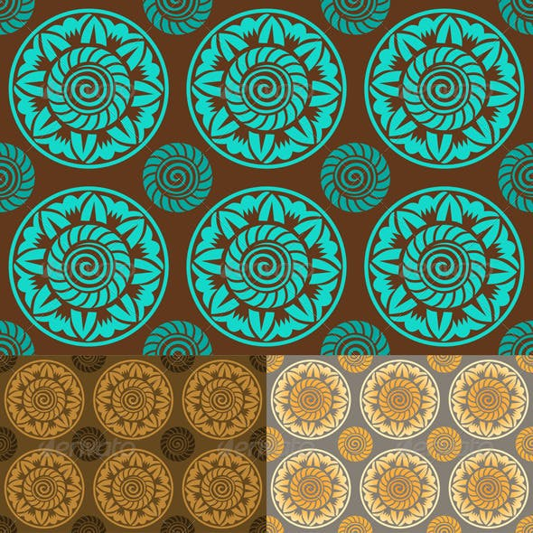Vintage Seamless Abstract Pattern