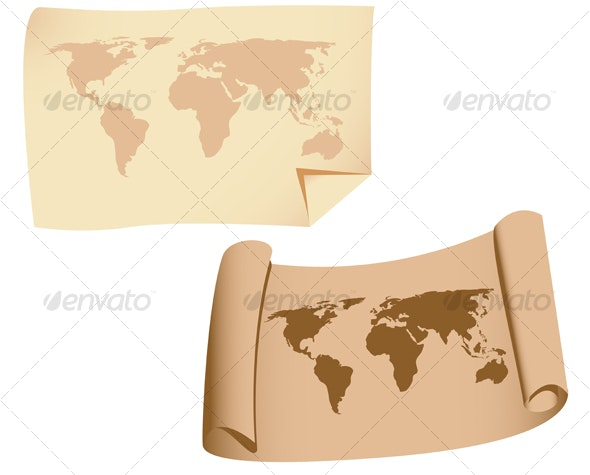 Old maps - Travel Conceptual