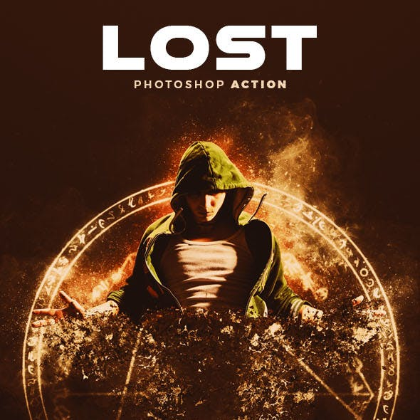 Lost Photoshop Action