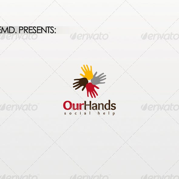 Our Hands Logo