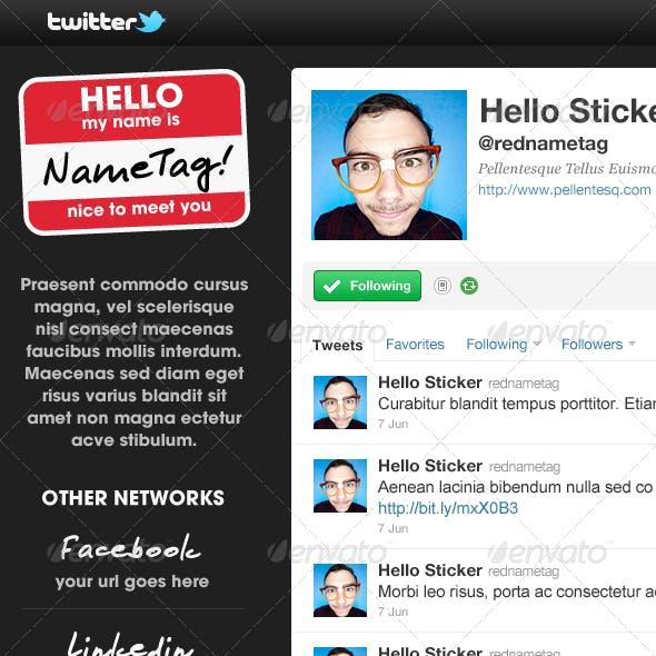Pacino - Twitter Background