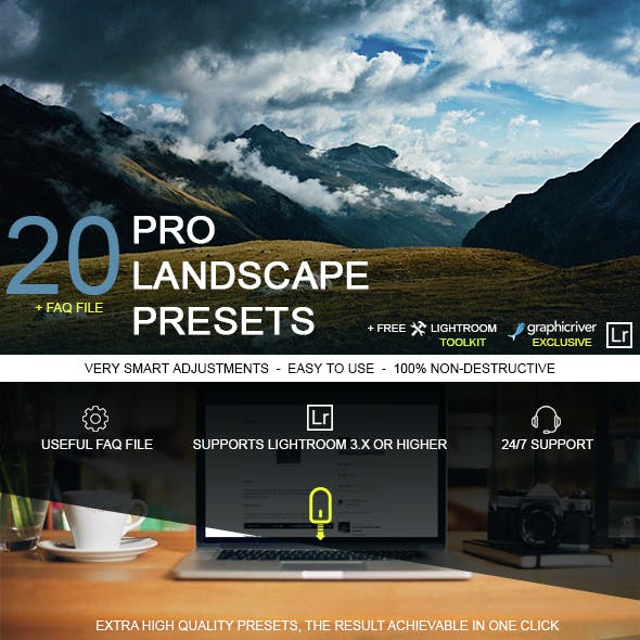 20 Pro Landscape Presets