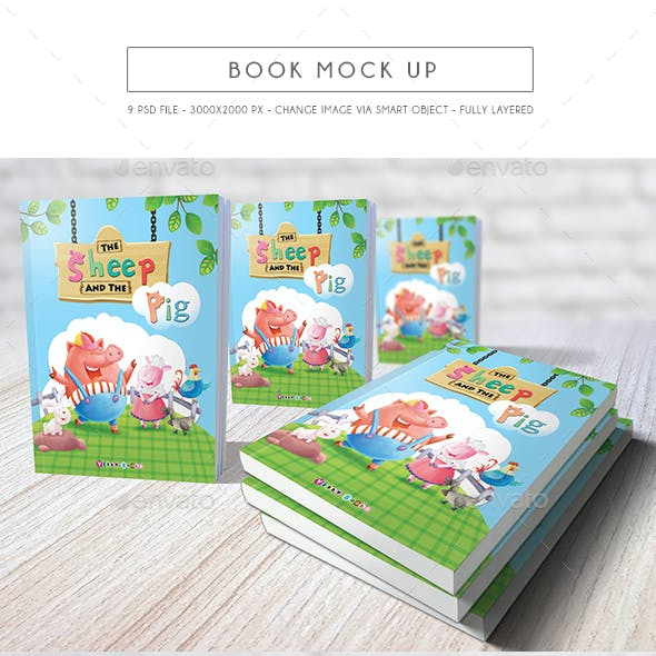 Book Mock Up