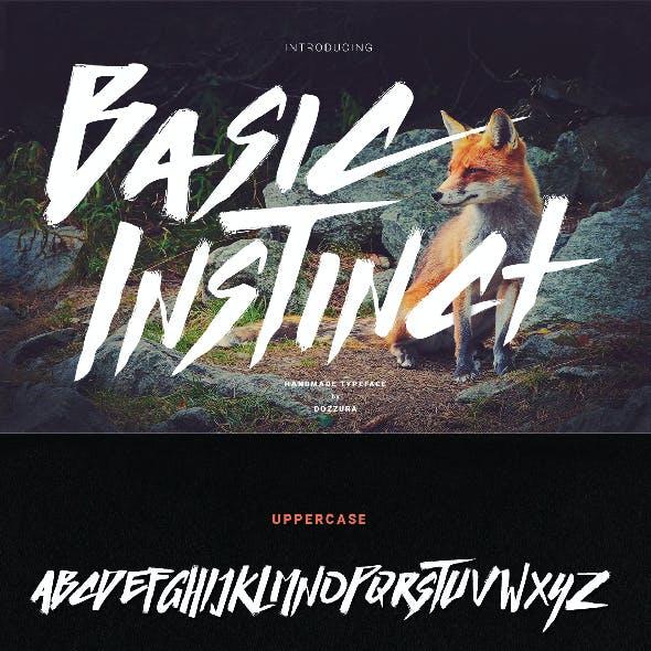 Basic Instinct Typeface