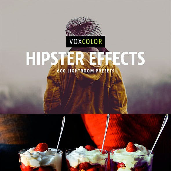 600 Hipster Lightroom Presets