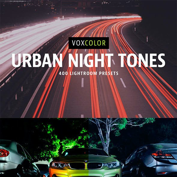 400 Urban Night Tone Presets
