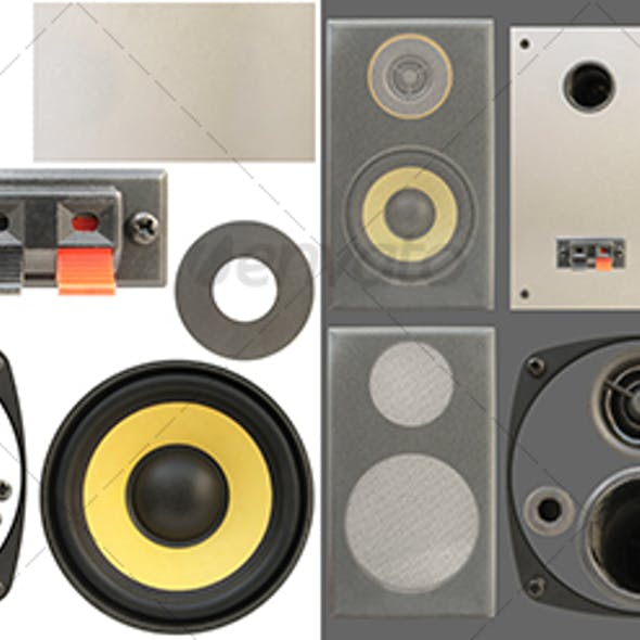 Loudspeakers kit 01