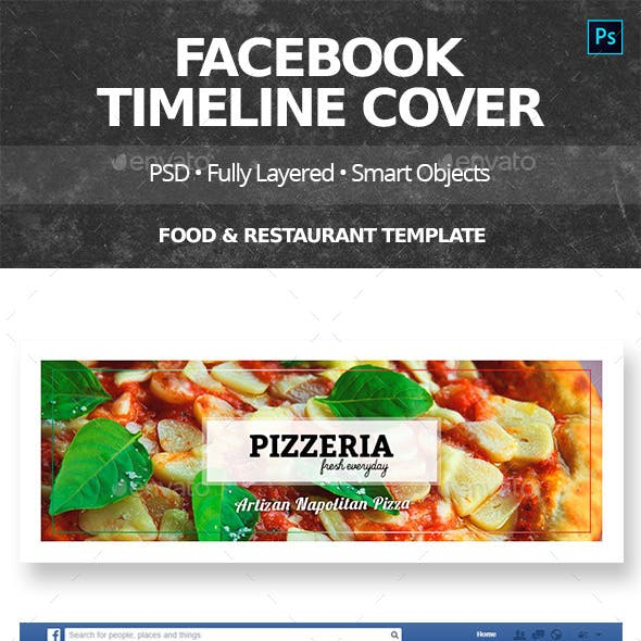 Food & Restaurant Facebook Cover