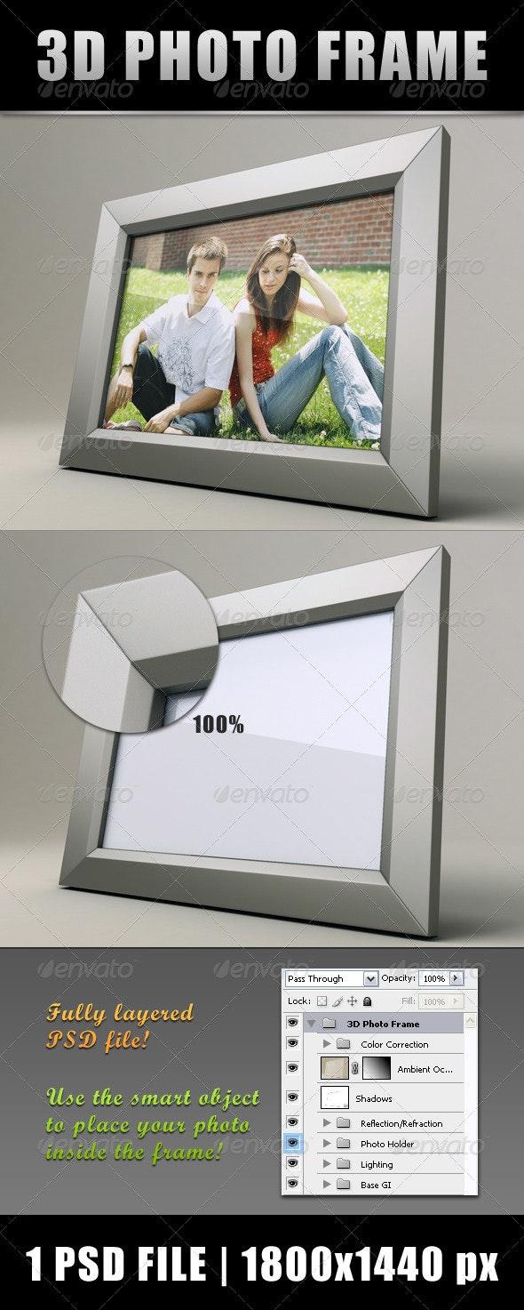 3D Photo Frame - Miscellaneous Photo Templates