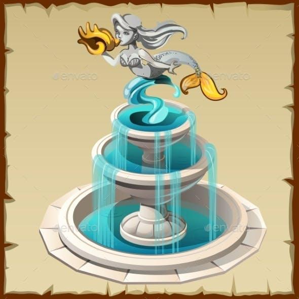 Sculpture Mermaid Fountain
