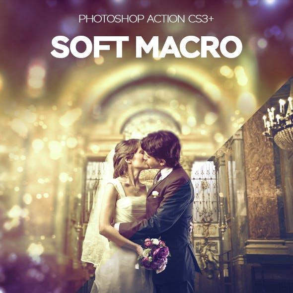 Macro Soft Photoshop Action