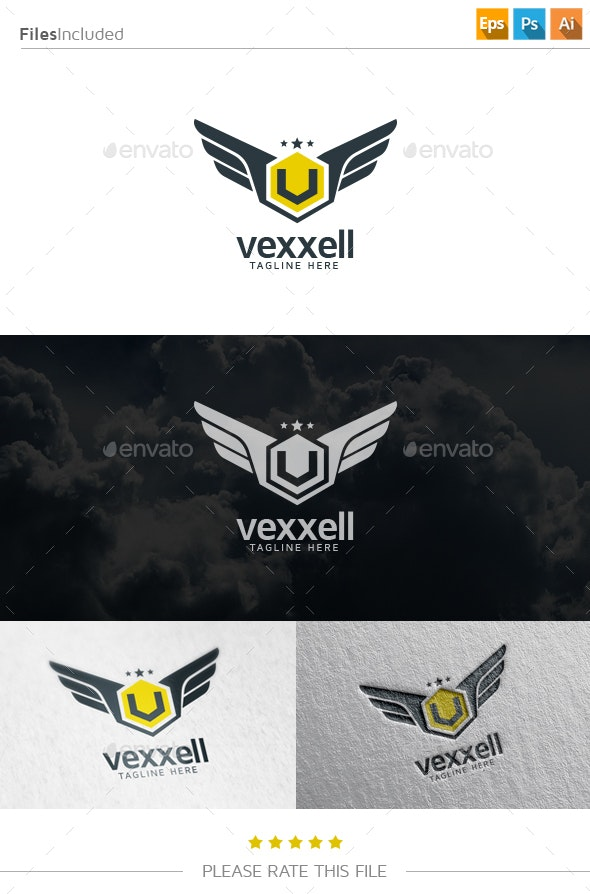 Wings Logo - Letters Logo Templates