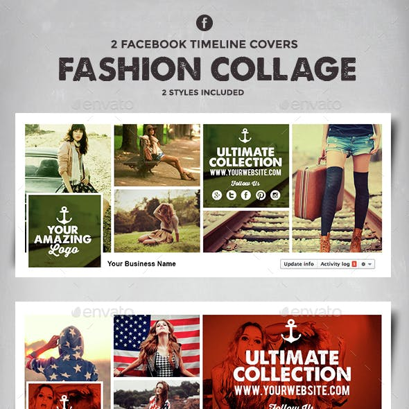 Facebook Timeline Covers - Fashion Collage