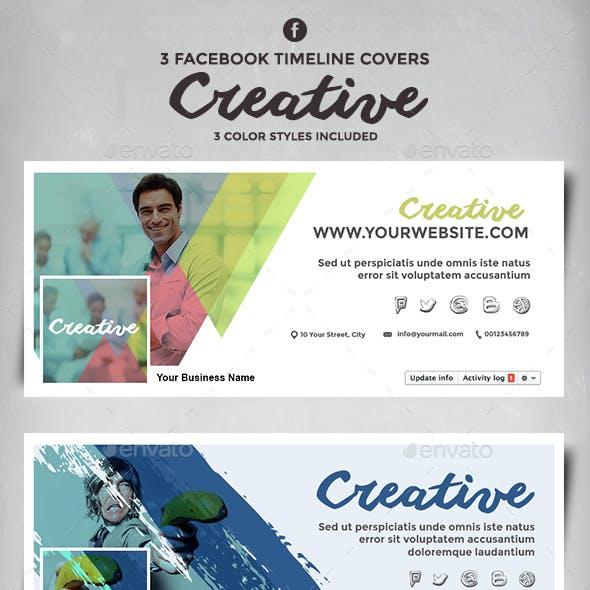Facebook Timeline Cover - Creative
