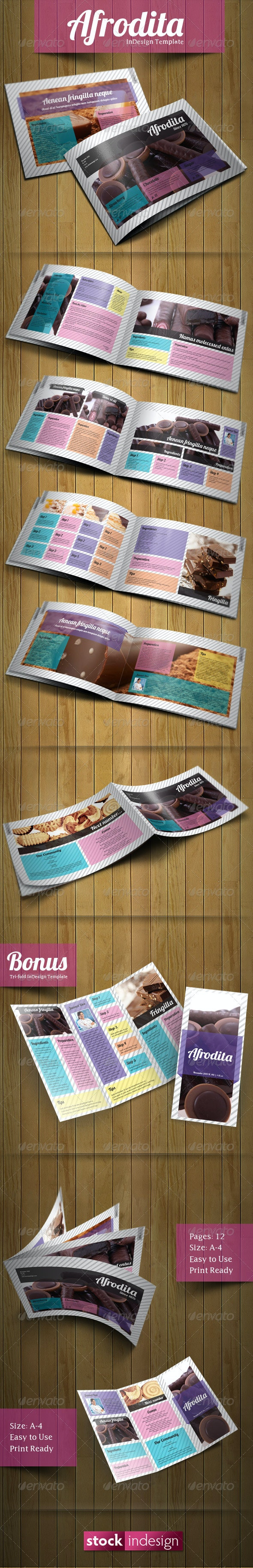 Afrodita Brochure: Modern & Clean - Corporate Brochures