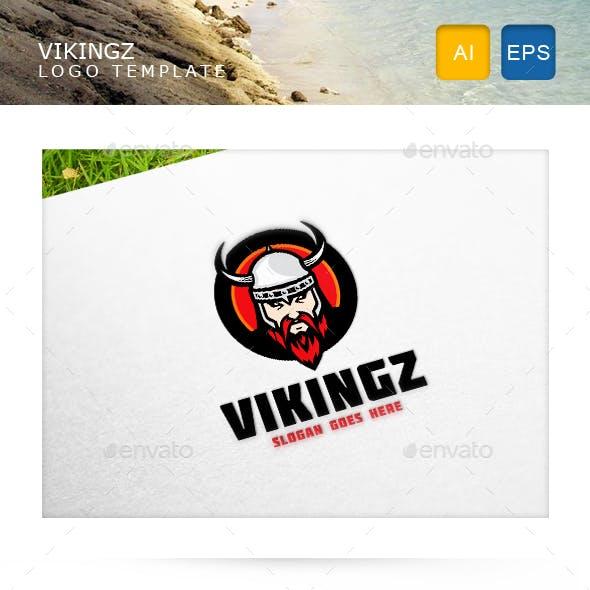 Viking Logo Template