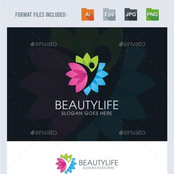 Beauty Life Logo Template