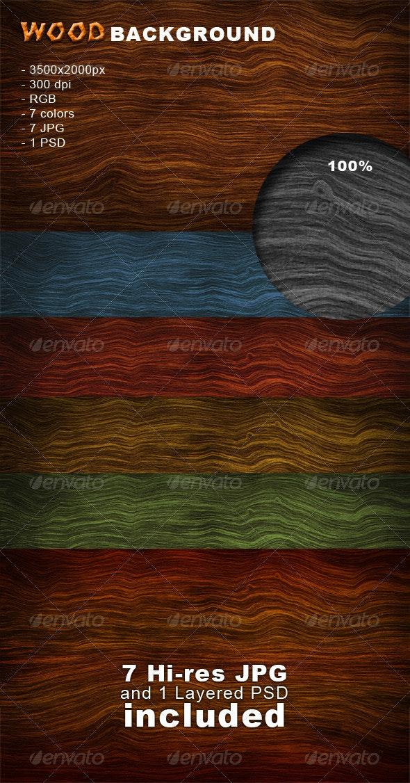 Wood Background - Nature Backgrounds