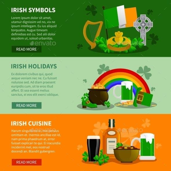 Ireland Horizontal Banners