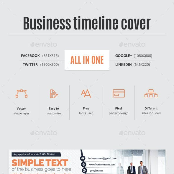 All in One Business Timeline Cover