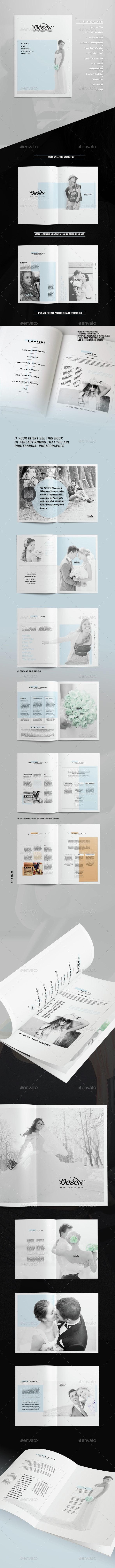 Wedding Photography Marketing - Corporate Brochures