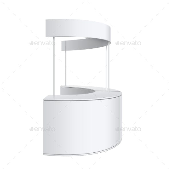 Promotion Counter Retail Trade Stand