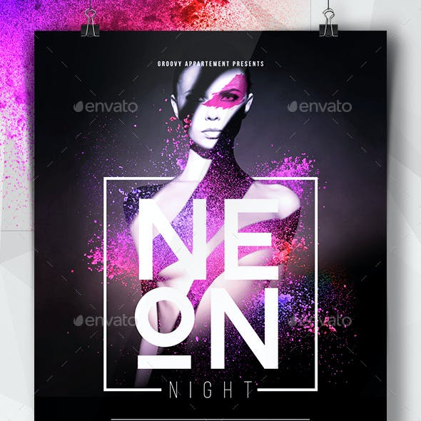 Neon Night Flyer