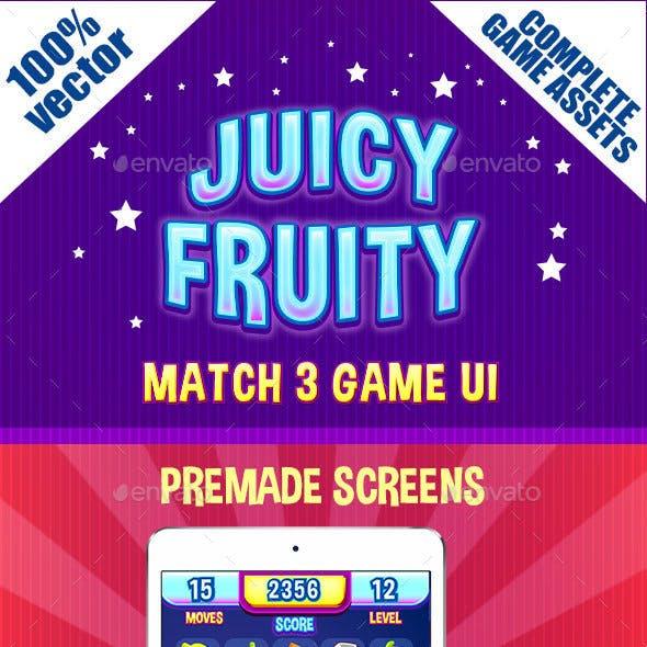 Match 3 Game Ui