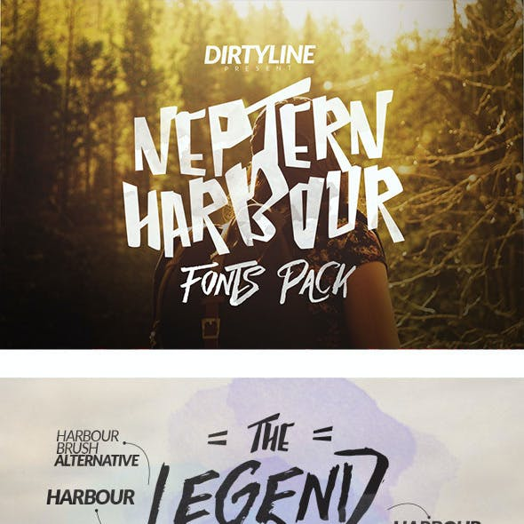 Neptern Harbour 3 Font Multipurpose