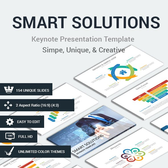 SMART SOLUTIONS Keynote Presentation Template