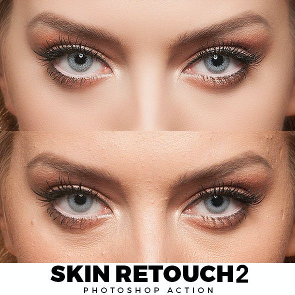 Skin Retouch 2 Photoshop Action