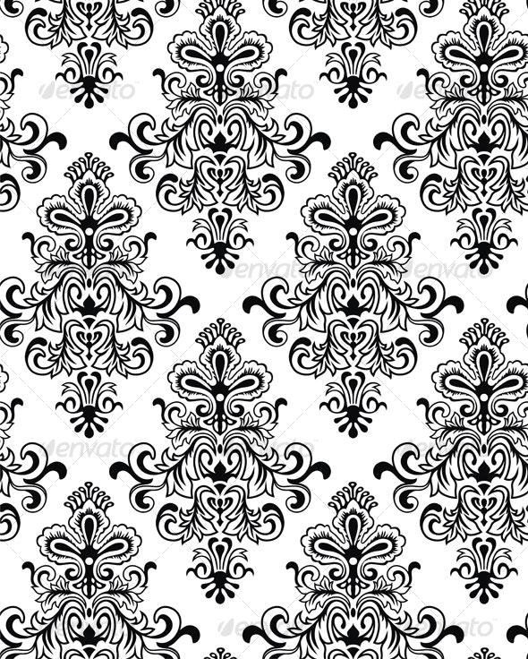 Seamless Classicism Wallpaper - Patterns Decorative