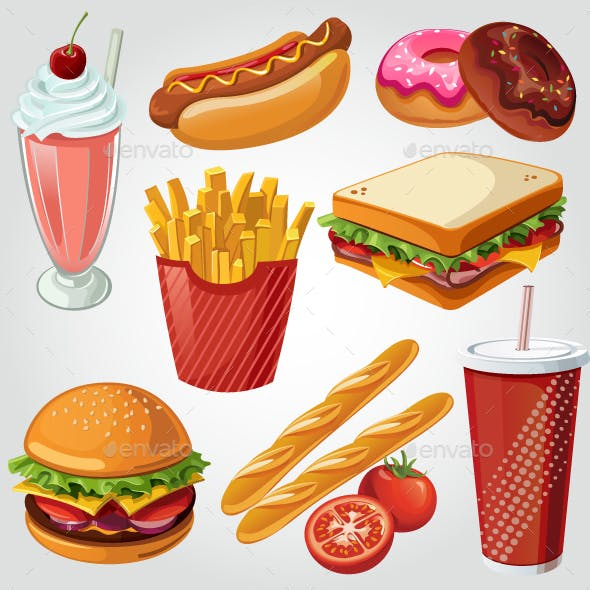 Fast Food Item Set