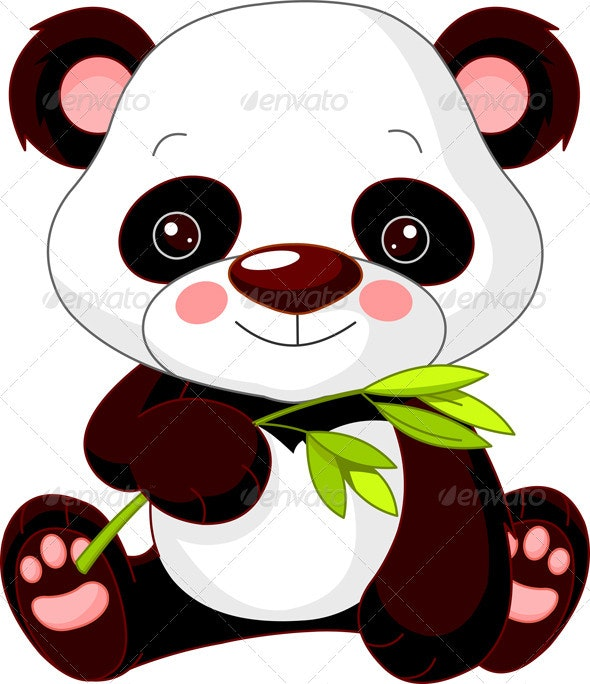 Fun zoo. Panda - Animals Characters
