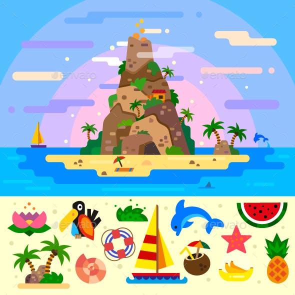 Fantastic Summer Paradise Island!