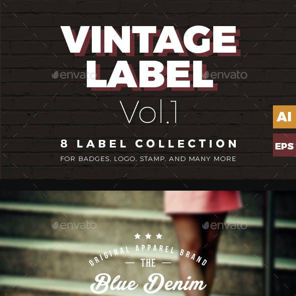 Vintage Labels & Badges  Vol.1