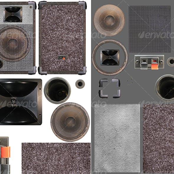 Loudspeakers kit 02