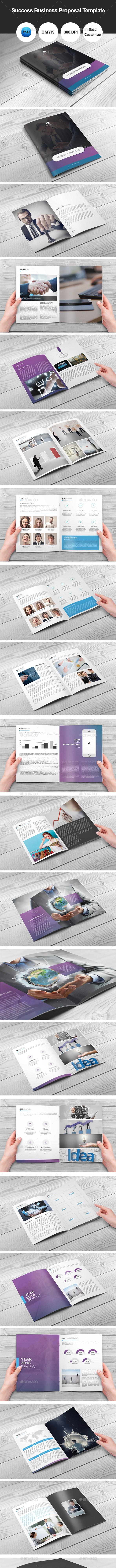Success Business Proposal Template - Corporate Brochures